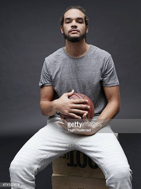 Basketball player Joakim Noah is photographed for Maxim Magazine on August 18 2014 in New York City PUBLISHED IMAGE