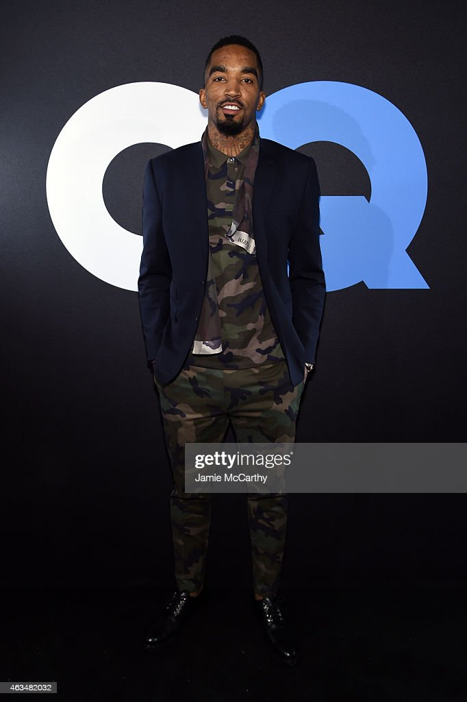 Basketball player J.R. Smith attends GQ and LeBron James Celebrate All-Star Style on February 14, 2015 in New York City.