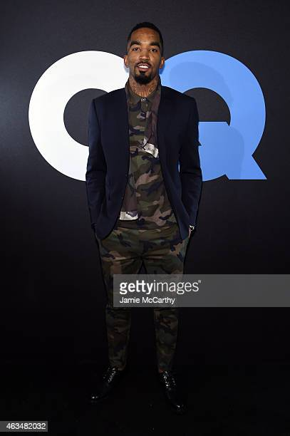 Basketball player JR Smith attends GQ and LeBron James Celebrate AllStar Style on February 14 2015 in New York City