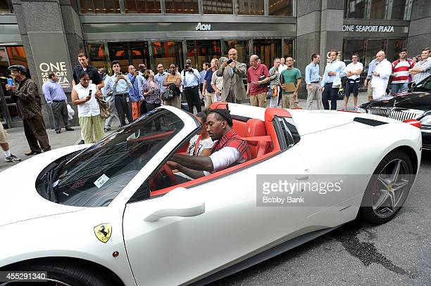 Basketball player JR Smith attends the BGC Charity Day on September 11 2014 in New York City