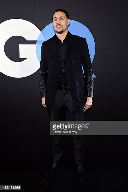 Basketball player Klay Thompson attends GQ and LeBron James Celebrate AllStar Style on February 14 2015 in New York City