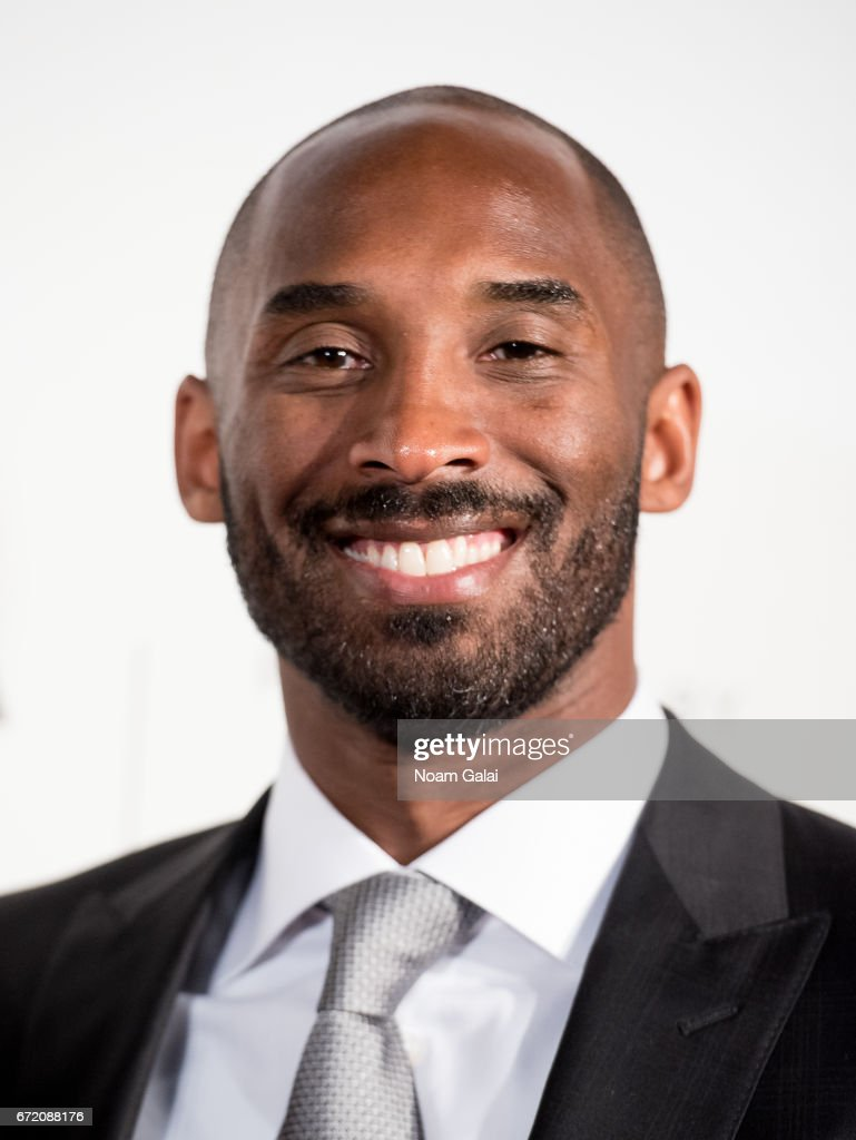 Basketball player Kobe Bryant attends Tribeca Talks: Storytellers: Kobe Bryant with Glen Keane during 2017 Tribeca Film Festival at BMCC Tribeca PAC on April 23, 2017 in New York City.