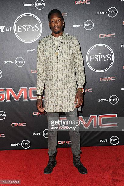 Basketball player Larry Sanders attends ESPN Presents BODY At ESPYS PreParty at Lure on July 15 2014 in Hollywood California