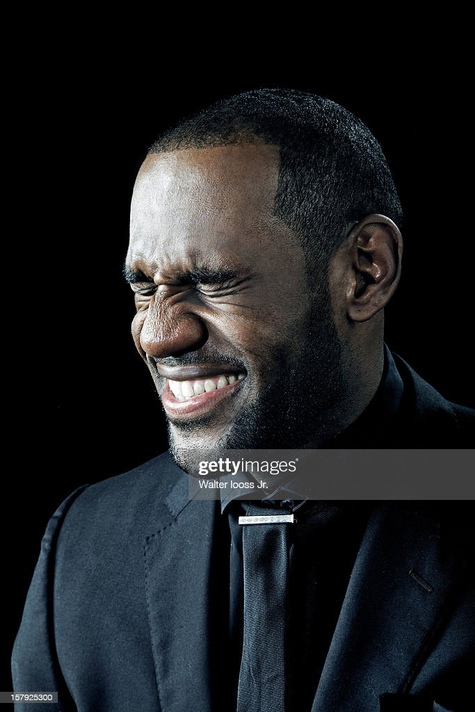 Basketball player LeBron James is photographed as Sportsman of the Year 2012 for Sports Illustrated on December 5, 2012 in Miami, Florida.