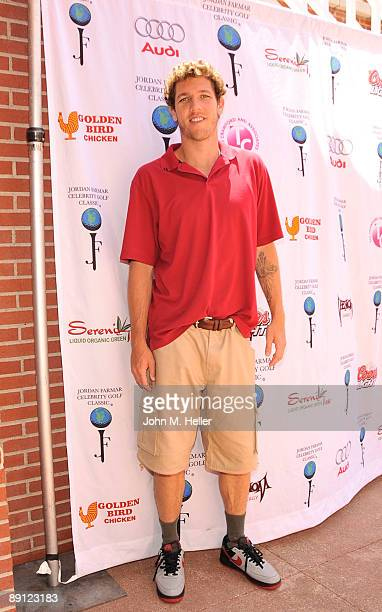 Basketball player Luke Walton attends the Inaugural Jordan Farmar Foundation Celebrity Golf Classic at Sherwood Country Club on July 20 2009 in...