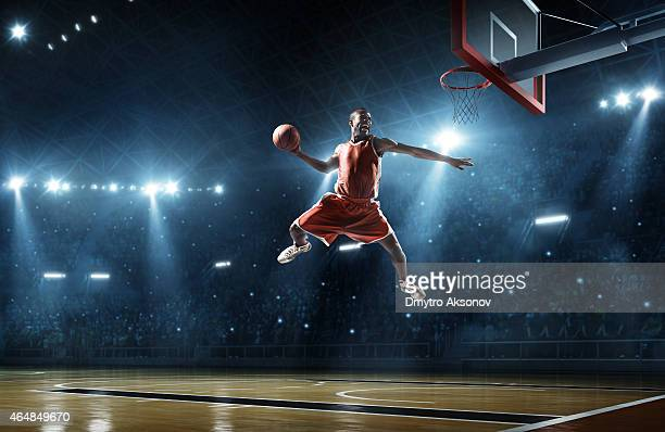 Faz Encestar Jogador de basquetebol