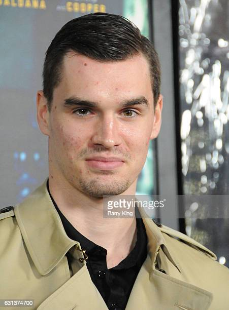 NBA basketball player Mario Hezonja attends the premiere of Warner Bros Pictures' 'Live By Night' at TCL Chinese Theatre on January 9 2017 in...