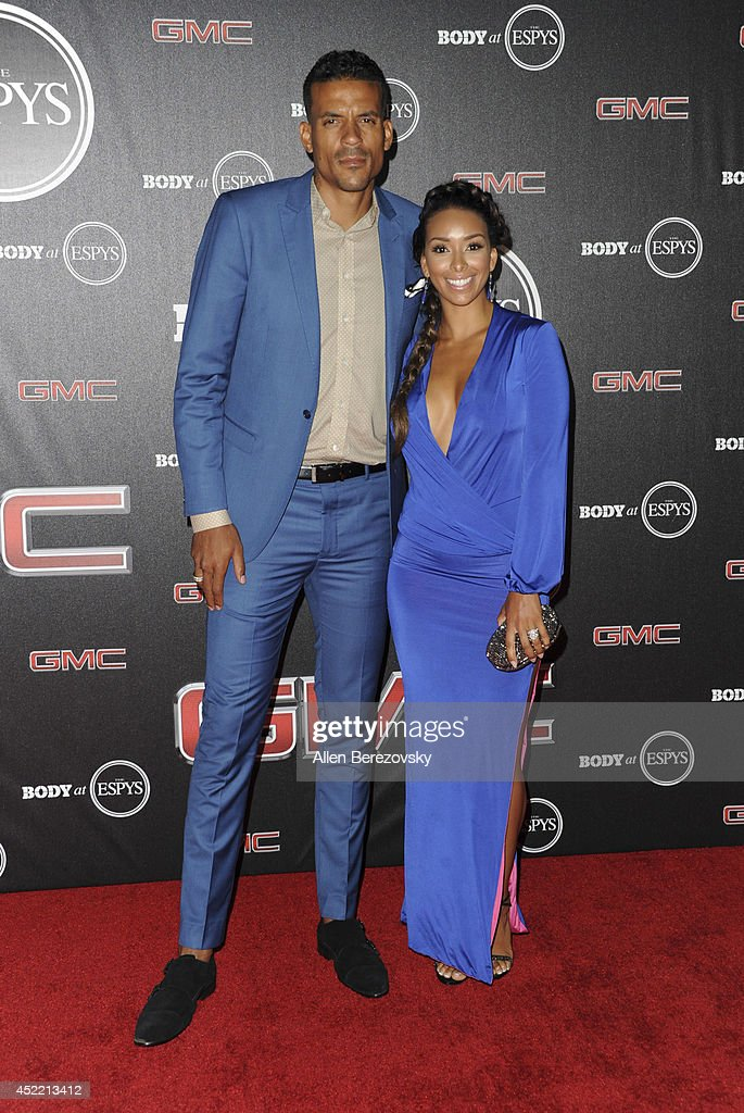 Basketball player Matt Barnes and Gloria Govan attend ESPN Presents BODY At ESPYS Pre-Party at Lure on July 15, 2014 in Hollywood, California.