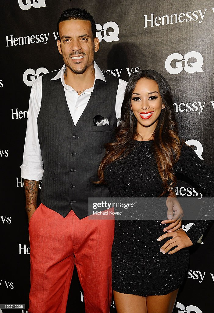 Basketball player <a gi-track='captionPersonalityLinkClicked' href=/galleries/search?phrase=Matt+Barnes+-+Basketball+Player&family=editorial&specificpeople=202880 ng-click='$event.stopPropagation()'>Matt Barnes</a> and wife <a gi-track='captionPersonalityLinkClicked' href=/galleries/search?phrase=Gloria+Govan&family=editorial&specificpeople=7070564 ng-click='$event.stopPropagation()'>Gloria Govan</a> attend the GQ October Cover Party With Chris Paul with Hennessy at Sayer's Club on September 24, 2012 in Los Angeles, California.