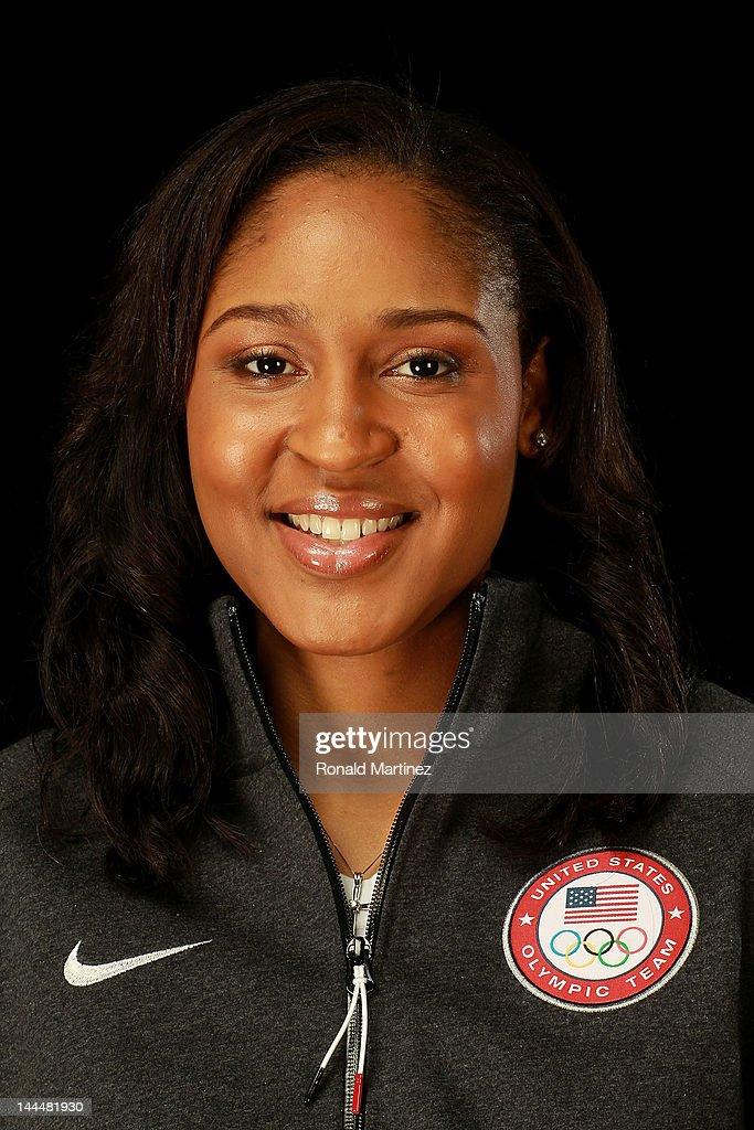 Basketball player, <a gi-track='captionPersonalityLinkClicked' href=/galleries/search?phrase=Maya+Moore+-+Basketball+Player&family=editorial&specificpeople=4215914 ng-click='$event.stopPropagation()'>Maya Moore</a>, poses for a portrait during the 2012 Team USA Media Summit on May 14, 2012 in Dallas, Texas.