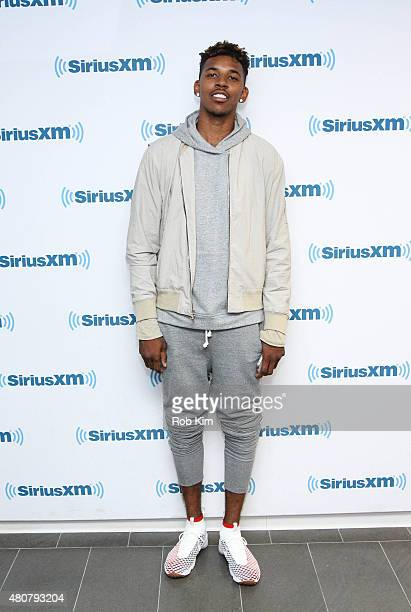 NBA basketball player Nick Young visits at SiriusXM Studios on July 15 2015 in New York City
