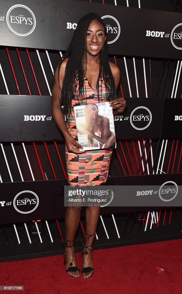 Basketball player Nneka Ogwumike attends the BODY at The EPYS Pre-Party at Avalon Hollywood on July 11, 2017 in Los Angeles, California.