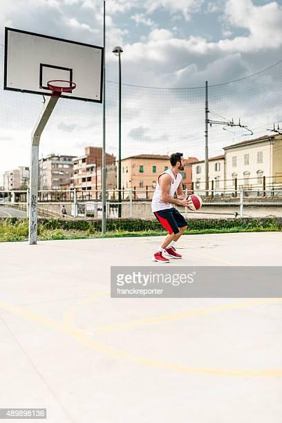 バスケットボール選手のコート