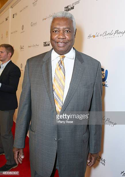 Basketball player Oscar Robertson attends the 15th annual Harold Carole Pump Foundation gala at the Hyatt Regency Century Plaza on August 7 2015 in...