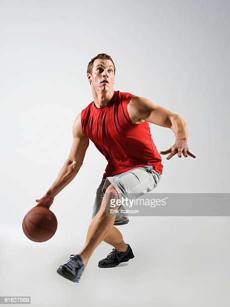 A basketball player