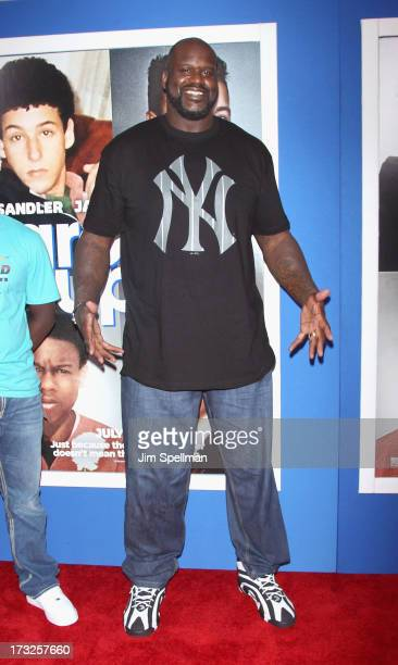 Basketball Player Shaquille O'Neal attends the 'Grown Ups 2' New York Premiere at AMC Lincoln Square Theater on July 10 2013 in New York City