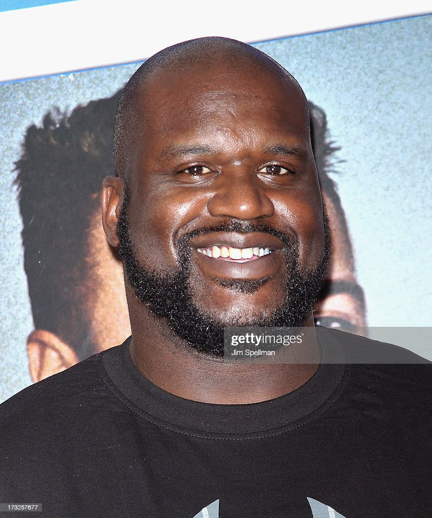 Basketball Player Shaquille O'Neal attends the 'Grown Ups 2' New York Premiere at AMC Lincoln Square Theater on July 10, 2013 in New York City.