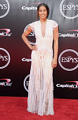 Basketball player Skylar Diggins arrives at The 2016 ESPYS at Microsoft Theater on July 13 2016 in Los Angeles California