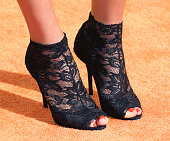 Basketball player Skylar Diggins shoe detail attends Nickelodeon's 28th Annual Kids' Choice Awards at The Forum on March 28 2015 in Inglewood...