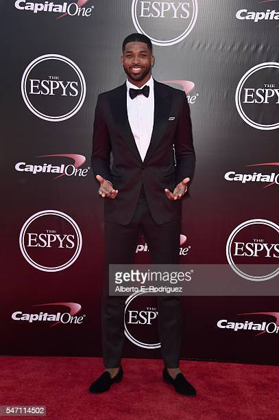 Basketball player Tristan Thompson attends the 2016 ESPYS at Microsoft Theater on July 13 2016 in Los Angeles California