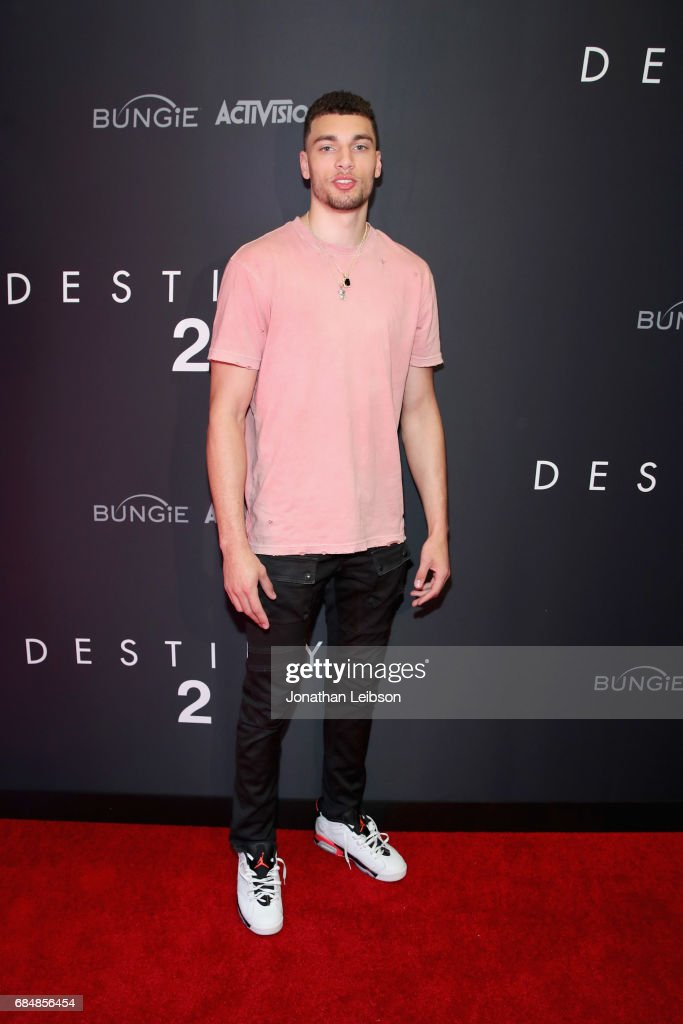 Basketball player Zach LaVine attends Activision And Bungie Celebrate The Gameplay World Premiere Of 'Destiny 2' at Jet Center Los Angeles on May 18, 2017 in Los Angeles, California.