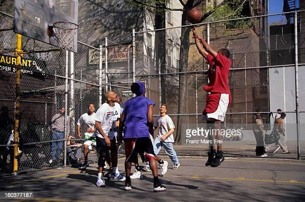Basketball playground, Houston Street