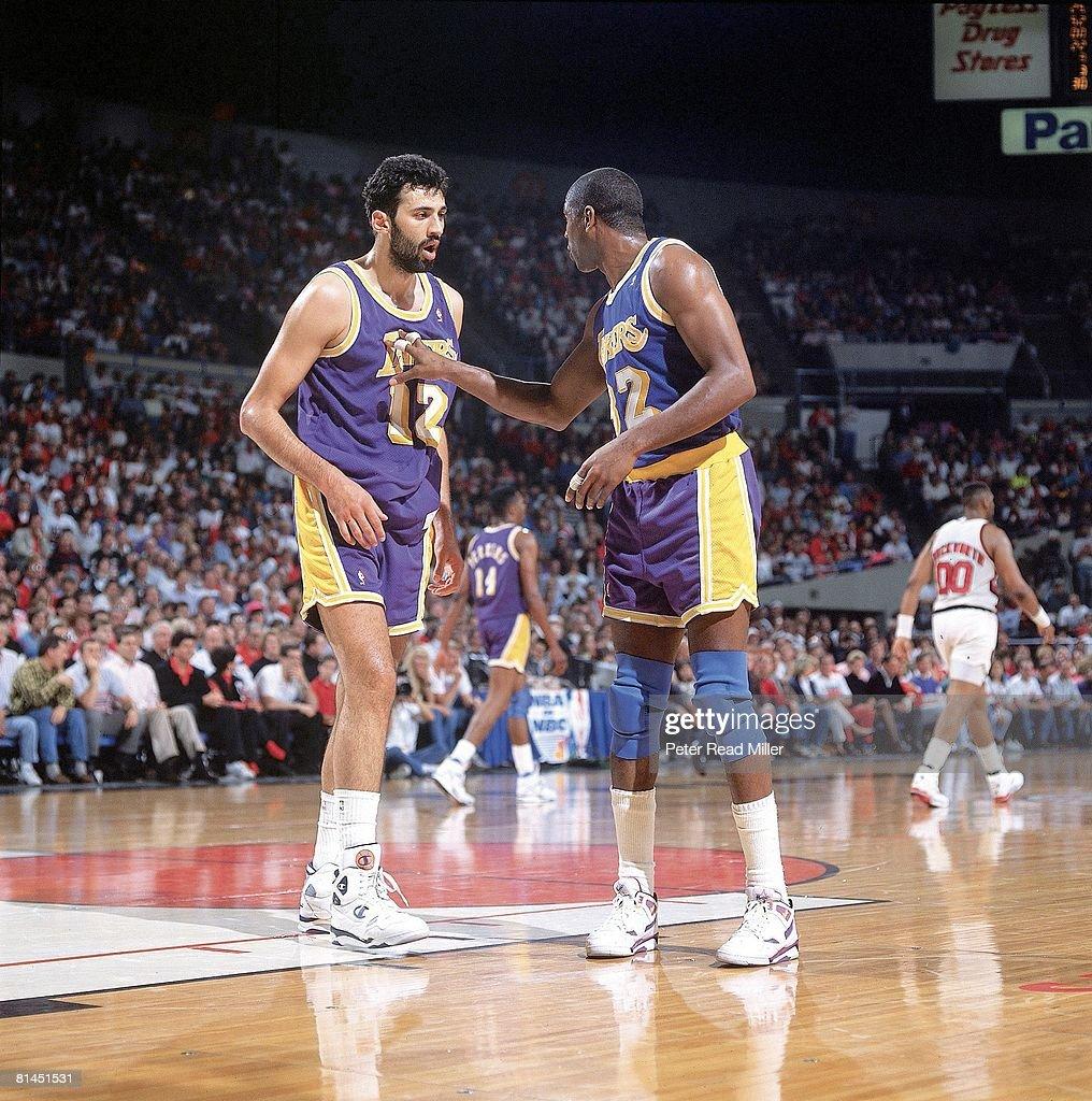 Blazers Vs Lakers: Magic Johnson