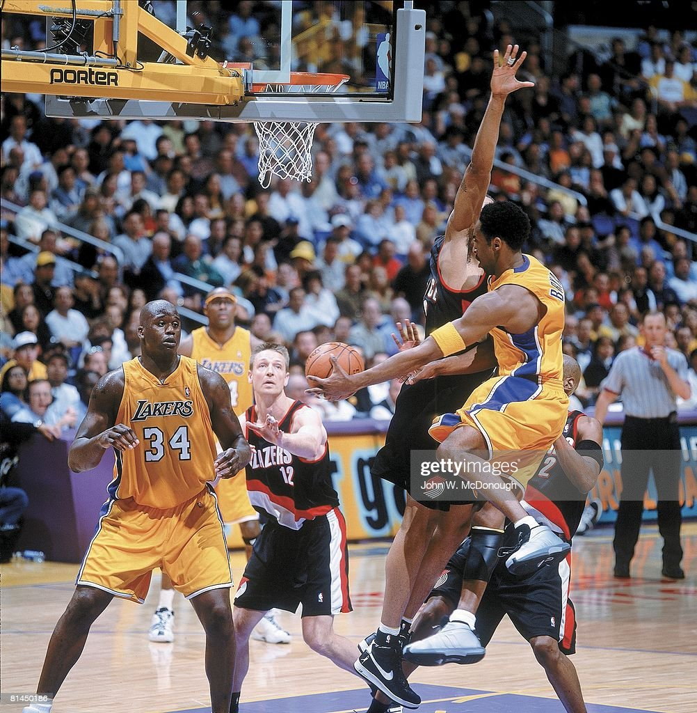 Los Angeles Lakers Kobe Bryant 2001 Playoffs