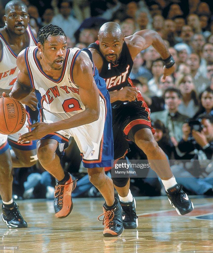 New York Knicks Latrell Sprewell 2000 Playoffs