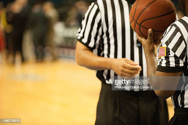 Basketball referees, cropped