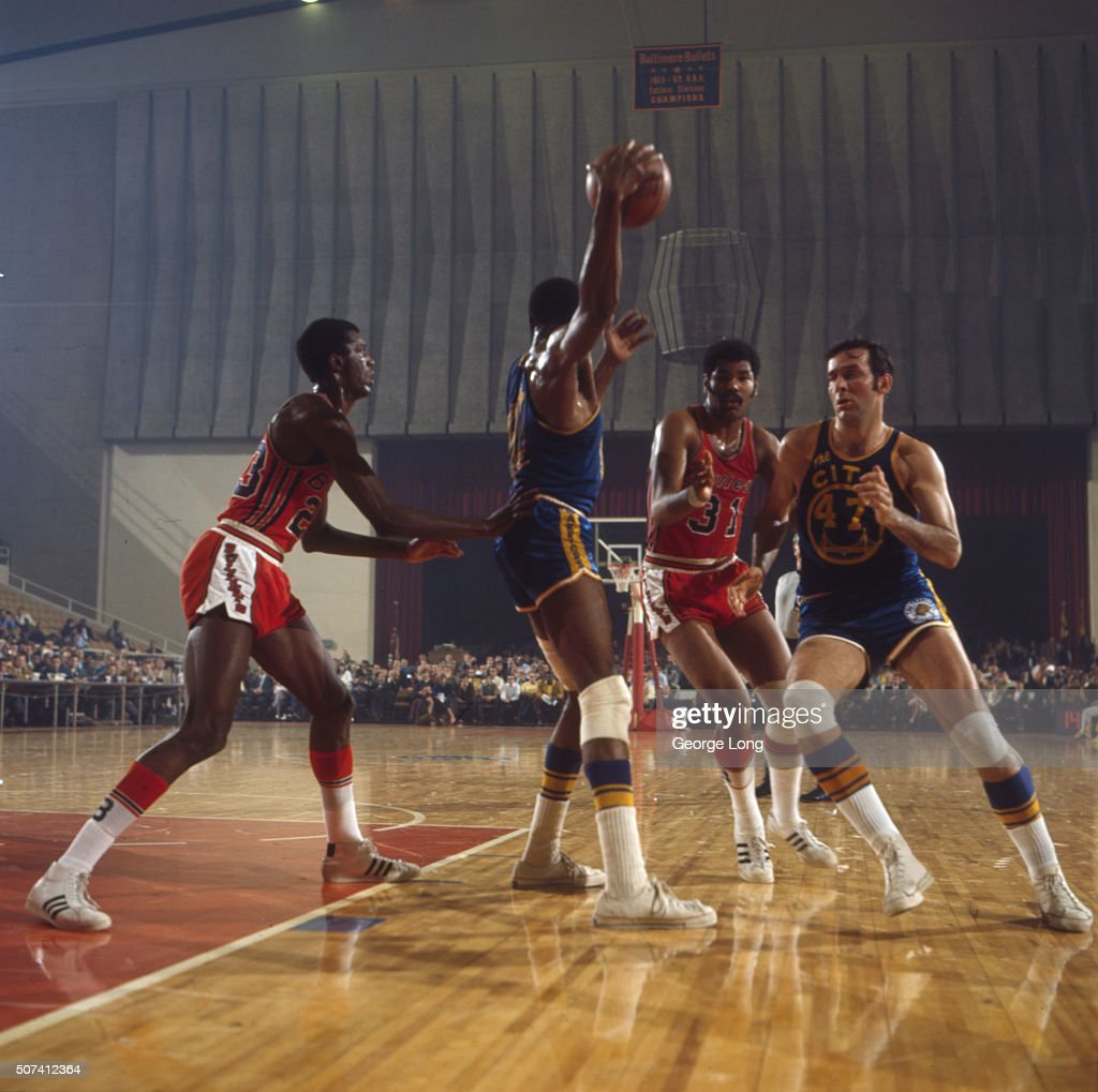 Baltimore Bullets vs San Francisco Warriors
