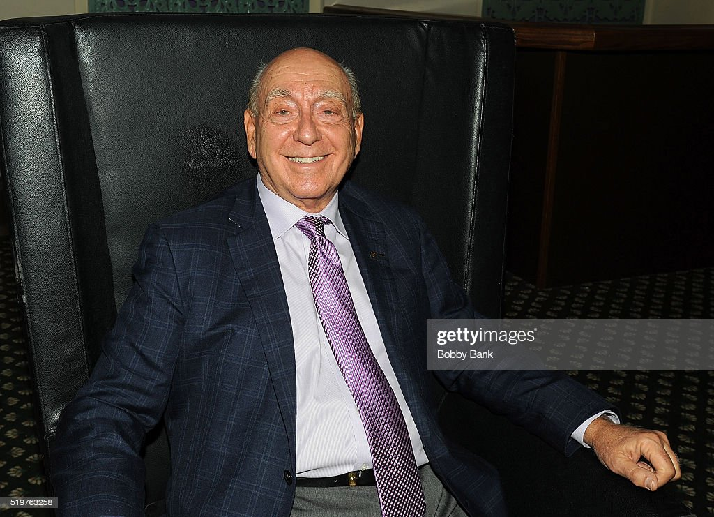 Basketball top analyst <a gi-track='captionPersonalityLinkClicked' href=/galleries/search?phrase=Dick+Vitale&family=editorial&specificpeople=730924 ng-click='$event.stopPropagation()'>Dick Vitale</a> attends the 2016 New Jersey Hall Of Fame Induction Ceremony at Asbury Park Convention Center on April 7, 2016 in Asbury Park, New Jersey.