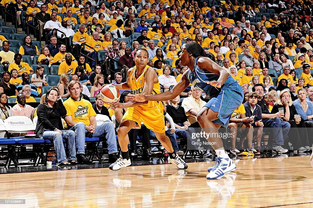 Tulsa Shock Marion Jones (20) in action vs Minnesota Lynx. Tulsa, OK 5/15/2010