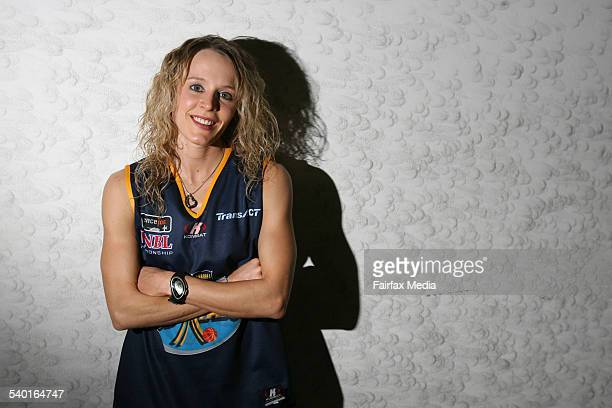 Basketballer Jackie Stiles who has overcome injuries to make a return to the sport playing for the Canberra Capitals in the WNBL 10 November 2006 SHD...