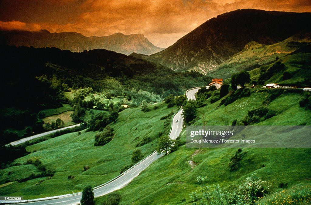 Basque Country Landscape : Stock Photo