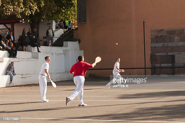 Basque pelota game
