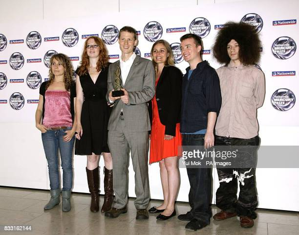 Basquiat Strings and Seb Rochford at the 2007 Nationwide Mercury Prize Albums of the Year nominations at The Hospital in Covent Garden central London