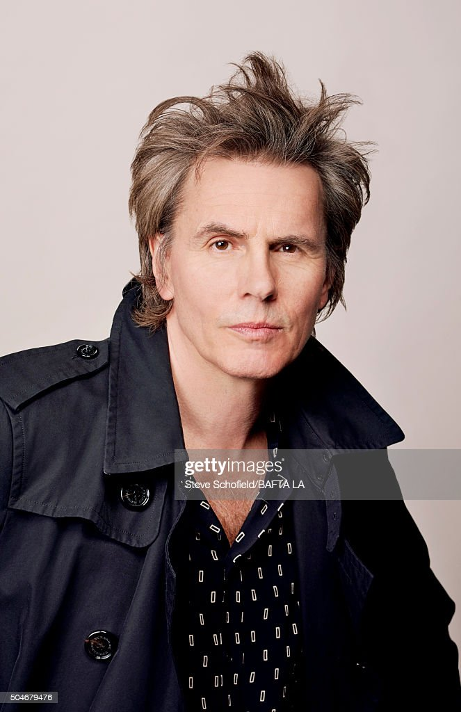 Bass guitarist and co-founder of new wave band Duran Duran, John Taylor poses for a portrait at the BAFTA Los Angeles Awards Season Tea at the Four Seasons Hotel on January 9, 2016 in Los Angeles, California.