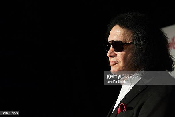 Bass guitarist Gene Simmons arrives at the The Children Matter NGO 1st Annual Gala on November 7 2015 in Beverly Hills California