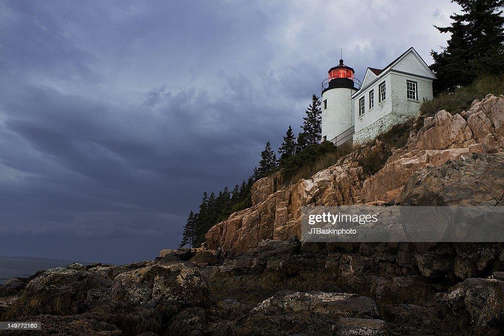 Bass Harbor Lighthouse - Acadia National Park
