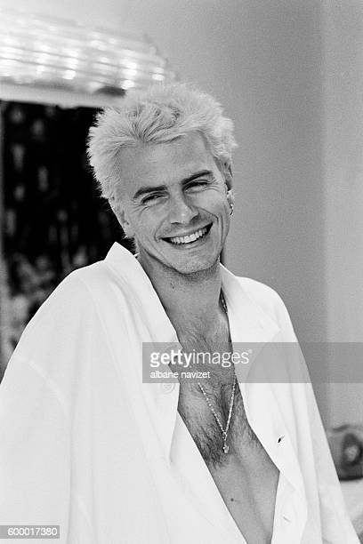 Bass player John Taylor from rock band Duran Duran.