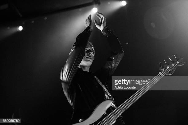 Bass player Theo Ellis of Wolf Alice opens for 'The 1975' at Barclays Center of Brooklyn on May 17 2016 in New York City