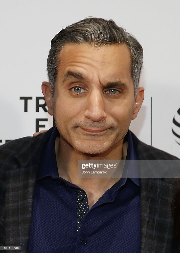 <a gi-track='captionPersonalityLinkClicked' href=/galleries/search?phrase=Bassem+Youssef&family=editorial&specificpeople=9660617 ng-click='$event.stopPropagation()'>Bassem Youssef</a> attends 'Tickling Giants' Premiere during the 2016 Tribeca Film Festival at Chelsea Bow Tie Cinemas on April 15, 2016 in New York City.