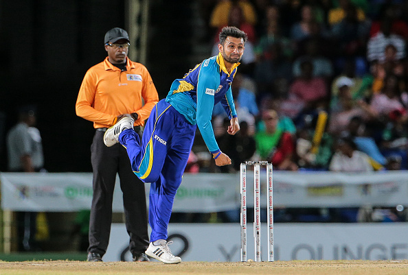 St Kitts & Nevis Patriots v Barbados Tridents - Hero Caribbean Premier League (CPL)  Match 8 : News Photo