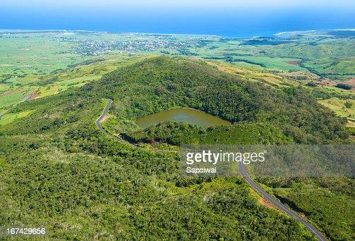 Bassin Blanc Mauritius : Stock Photo