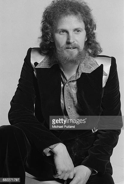 Bassist and singer Kelly Groucutt of British rock group Electric Light Orchestra 5th February 1975