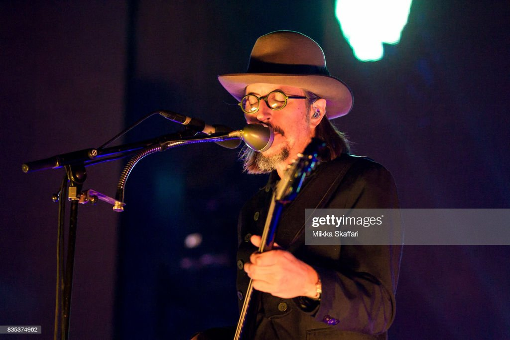 Bassist and vocalist Les Claypool of Primus performs at The Greek Theater on August 18, 2017 in Berkeley, California.
