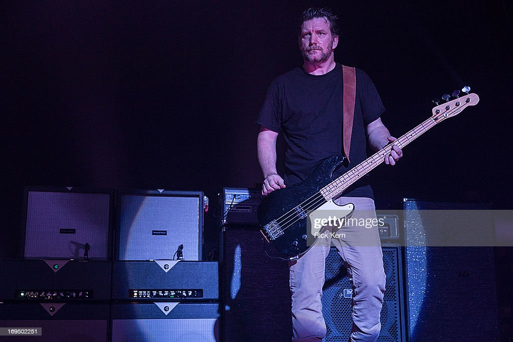 Bassist Ben Shepherd of Soundgarden performs in concert at Austin Music Hall on May 25, 2013 in Austin, Texas.