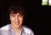 Bassist Bill Wyman of English rock group the Rolling Stones UK 1984