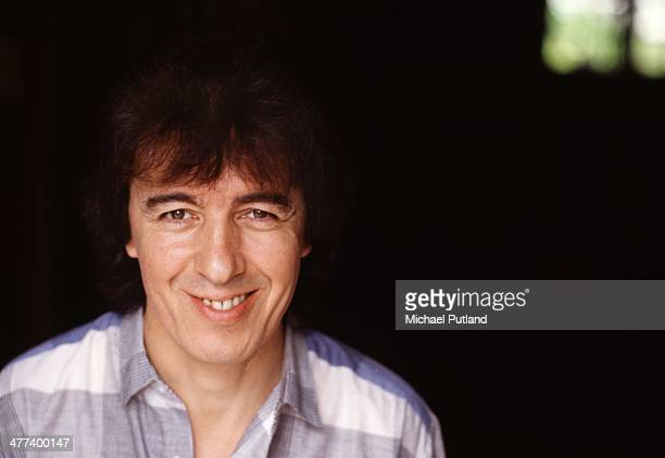 Bassist Bill Wyman of English rock group the Rolling Stones UK 1984